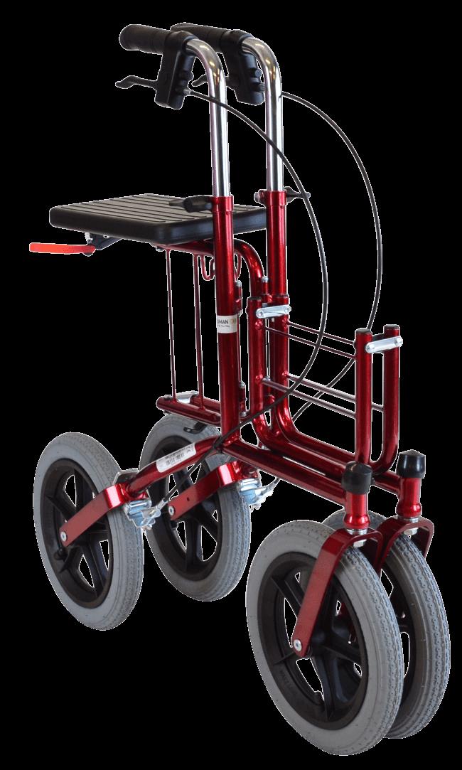 rollator med store hjul